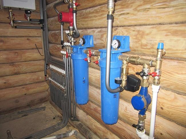 система водоочистки в дачном доме
