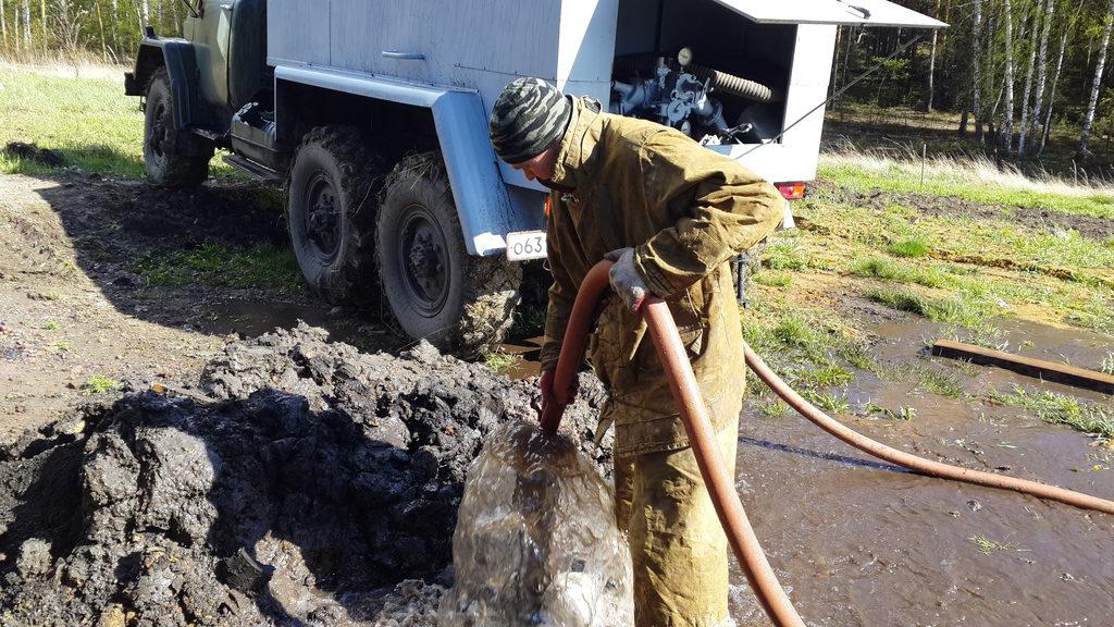 промывка скважины в Нижегородской области