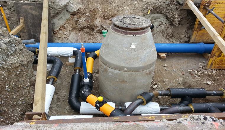 Прокладка водопровода на загородных участках в Нижегородской области