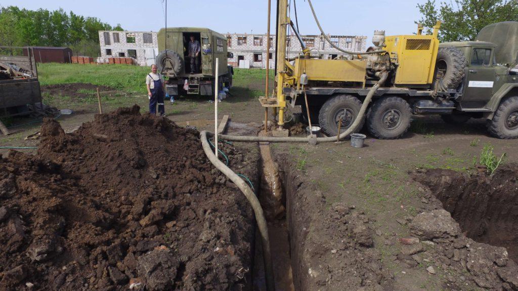 Бурение и обустройство артезианских скважин для водоснабжения АЗС