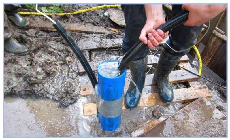 прокачка скважины и очистка