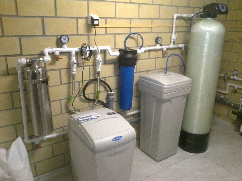 Заказать установку фильтров для воды в загородном доме