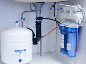Установка системы водоочистки для дома