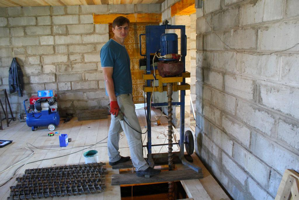 бурение скважины на воду с помощью мбу в нижегородской области