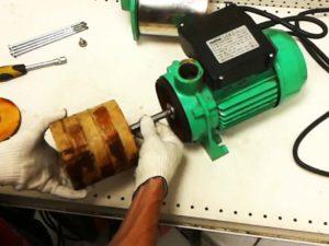 ремонт насоса для скважины