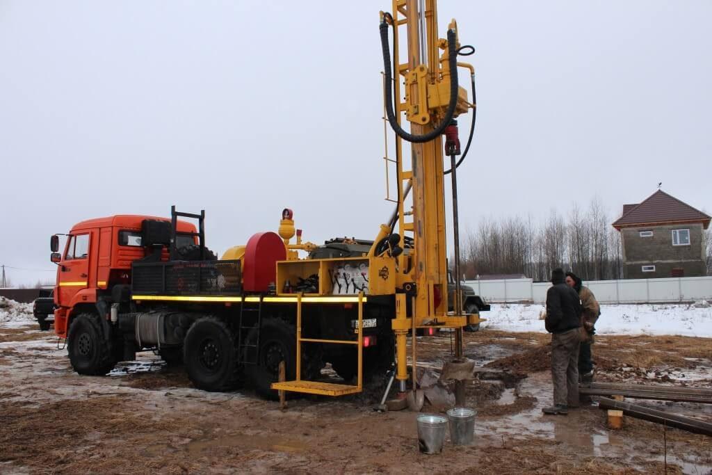 бурение скважин зимой в Нижегородской области