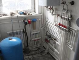 Монтаж систем отопления в загородных домах Нижний Новгород