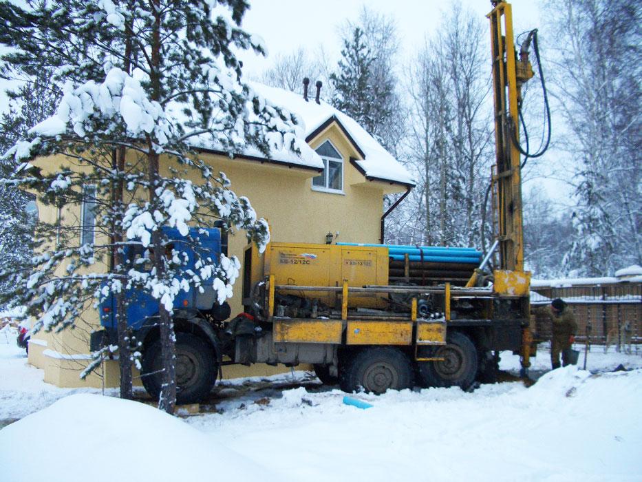 бурение скважин на воду зимой в Нижегородской области