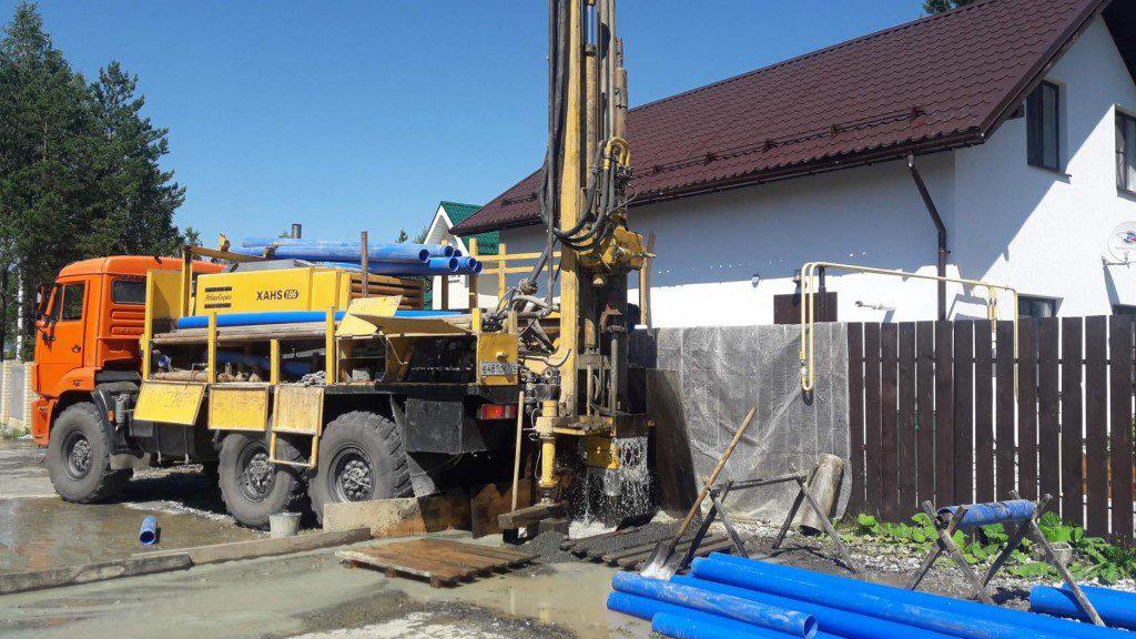 Бурение артезианских скважин под ключ в Нижегородской области