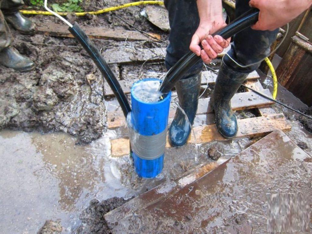 Промывка скважины на воду