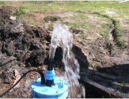 Расчет дебита скважины на воду