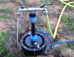 Режим эксплуатации скважины на воду