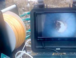 Телеинспекционное обследование скважин на воду