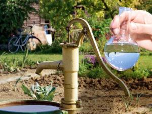 Тест на качество воды из скважины