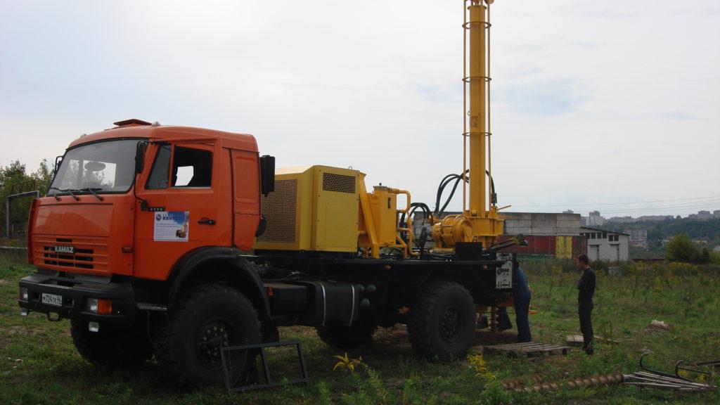 Бурение промышленных скважин на воду от Буркомпани