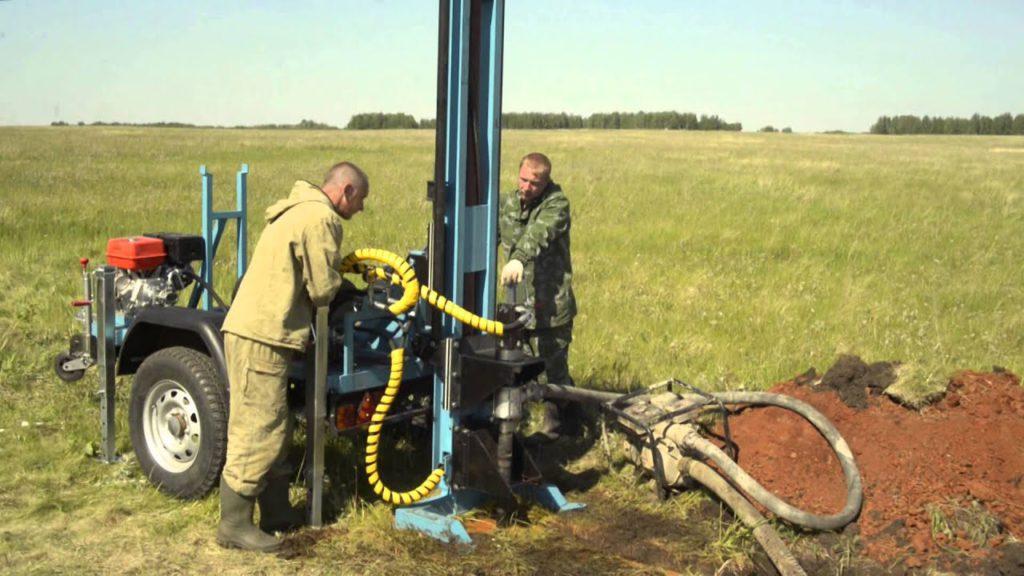 Бурение скважины на воду малогабаритной буровой установкой недорого в Нижнем Новгороде
