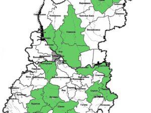 Бурение скважин на воду в Богородске - карта работ