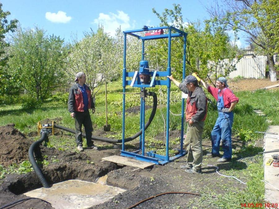 Ручное бурение скважин на воду в Нижегородской области
