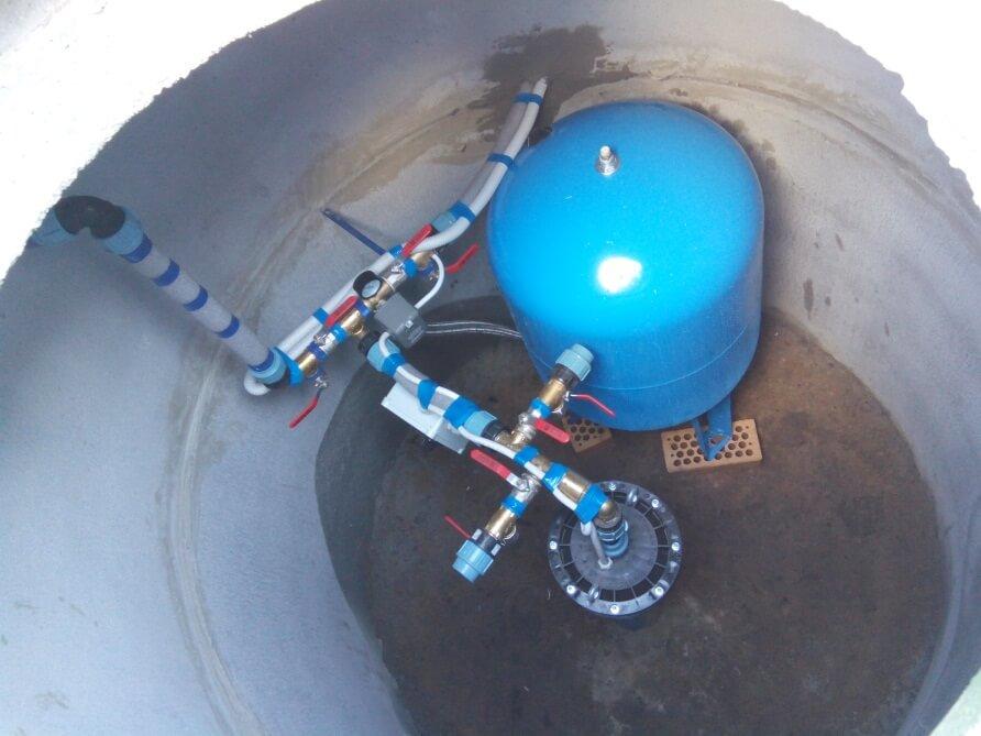 Обустройство скважины на воду с железобетонным кессоном
