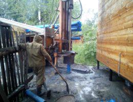Бурение скважин на воду в деревне Инютино Богородский район