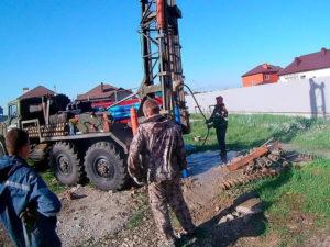Бурение скважин на воду в деревне Ватагино Балахнинский район