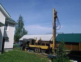 Бурение скважин на воду в деревне Кривая Шелокша Кстовский район