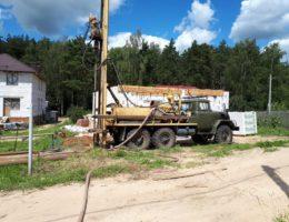 Бурение скважин на воду в деревне Белая Поляна