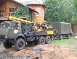 Бурение скважин на воду в деревне Сысоевка Богородский район