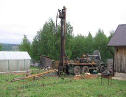 Бурение скважины в поселке Решетиха Володарский район
