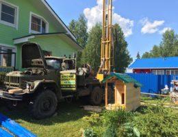 Бурение и обустройство скважин в поселке Ленинская Слобода
