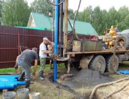 Бурение скважин на воду в деревне Крутая Кстовский район